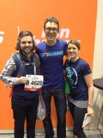 Meeting Scott Jurek at the expo