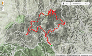 Mt. Tam Map
