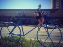 I think I need a smaller bike...