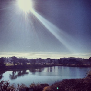 Lake Merced run