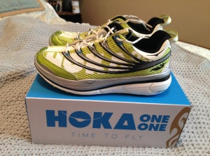 New Hoka trail shoes!