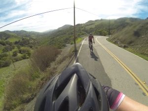 Biking on Saturday in Nicasio