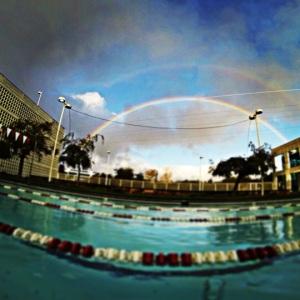 Double rainbow!!