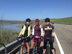 Teammate friends! Beautiful day for a bike ride.