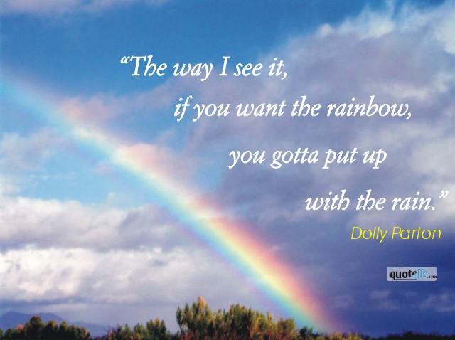Week 9: Rain And Rainbows