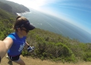 Trail run starting at Tennessee Valley in Marin
