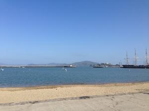 Beautiful morning at Aquatic Park!