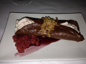 Vegan cannoli!