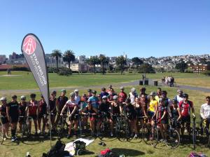 Golden Gate Tri Club group photo