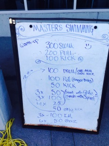 Drills for the swim workout
