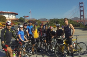 Golden Gate Tri Club Saturday ride