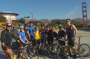 Golden Gate Tri Club Saturday ride