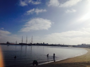 The calm of Aquatic Park