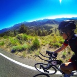 Almost to the top of the last pass, Monitor West. Gorgeous views.