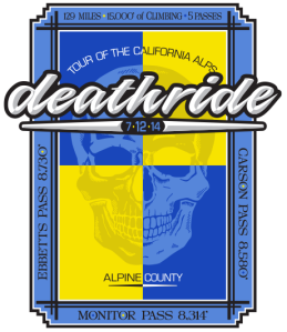 Official Death Ride logo