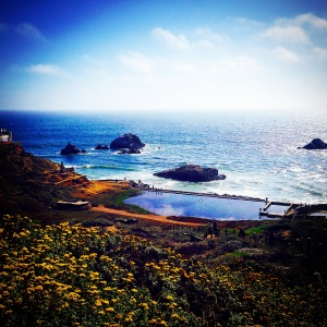 Sutro Baths. View from my run.