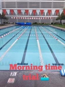 Morning Marker Set -- 1000 yards. 23 minutes.