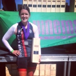 3rd place in my age group!