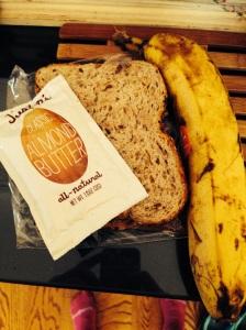 Pre-race breakfast. Tried and true!