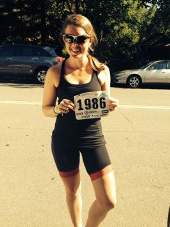 1986 was my bib number!