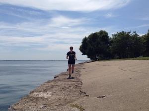 Hometown running along Lake St. Clair.