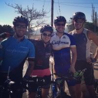Part of the Ironman Lake Tahoe Golden Gate Tri Club crew!