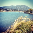 Running in Tiburon. Sunny and amazing morning.