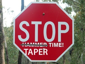 Stop Taper Time