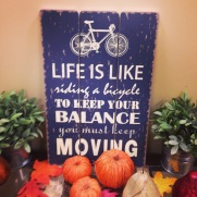 As seen at the pool right before biking :-) So true!!