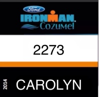 You can track me online at Ironman.com or with the IMTrackr app.