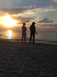 Father/Son Sunset