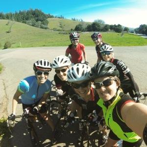 GGTC ladies ride in Marin!