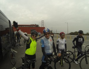 In SF and ready to bike to LA!