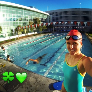 St Pattys Day swim