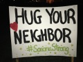 hug your neighbor
