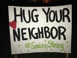 hug your neighbor