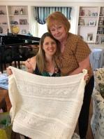 Beautiful handmade blanket from my Aunt Susan