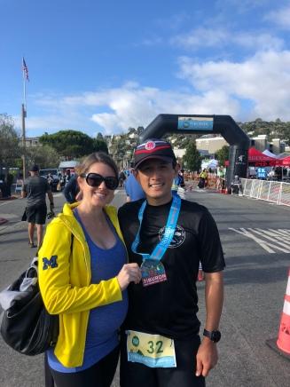 Mark's half marathon!