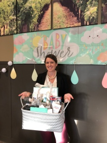 Baby shower at work